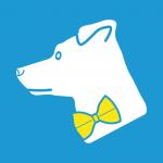 """Kein Sparfuchs, sondern """"Sparhund"""" Mali ist das Logo der ISARSPARER."""