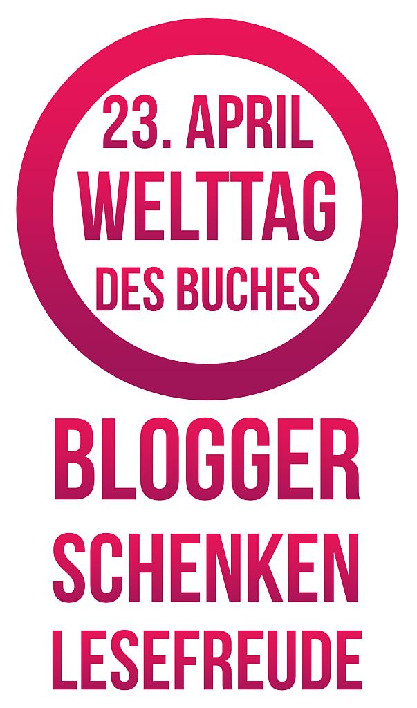 Wir lieben Bücher! Logo, dass wir bei der großen Blogaktion zum Welttag des Buches mit am Start sind.