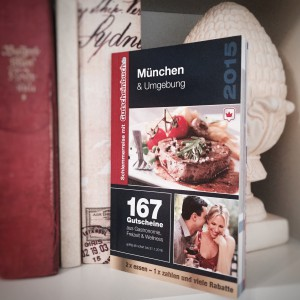 Ein Exemplar des Gutscheinbuches für München & Umgebung verlosen wir unter allen Teilnehmern an unserem Gewinnspiel.