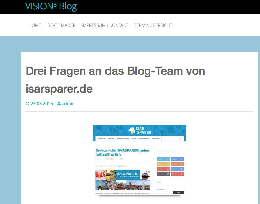 Screenshot Visionhochdrei