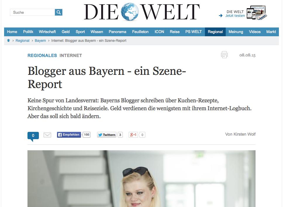 Screenshot Welt