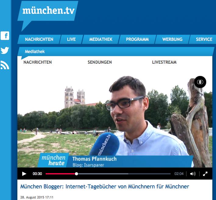Screenshot ISARSPARER München.TV