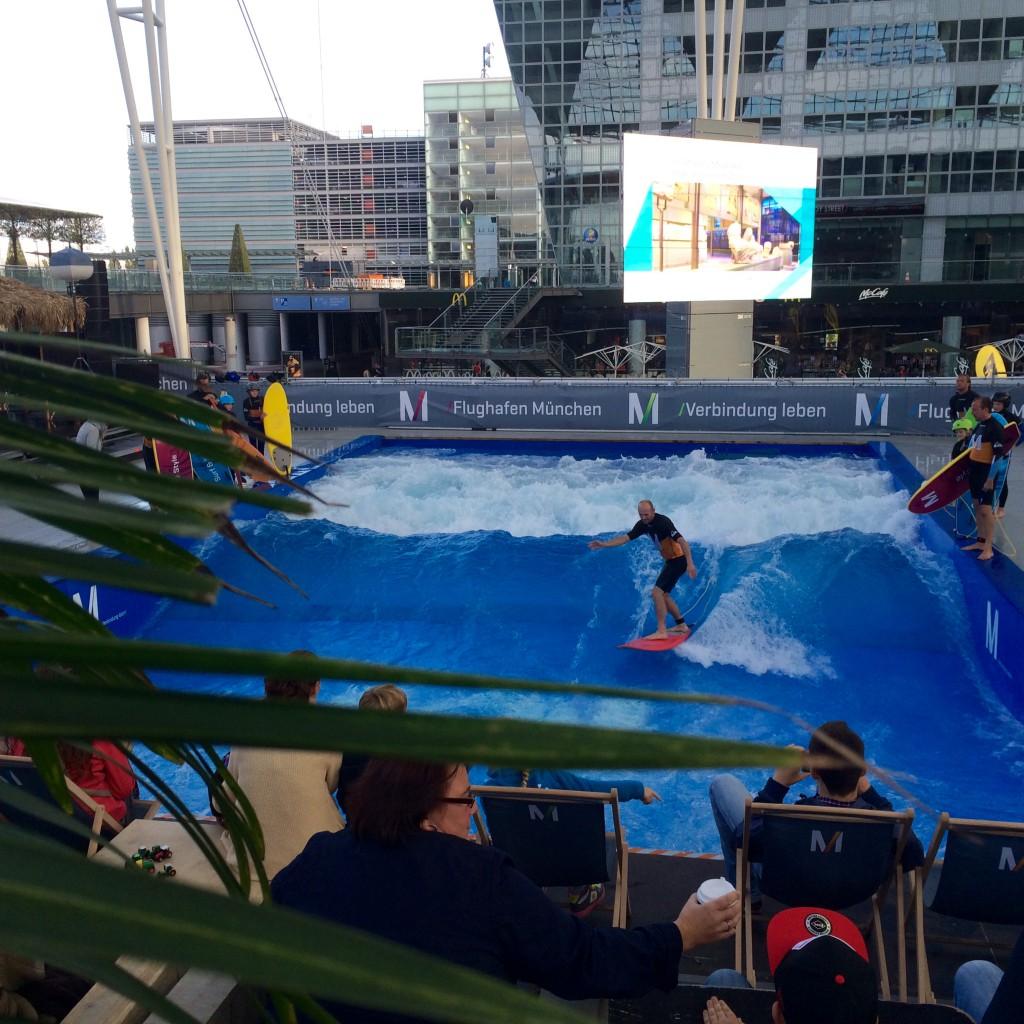 Surf & Style 2014 am Flughafen München