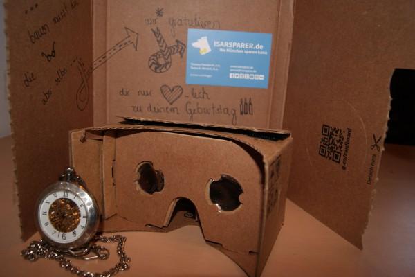 Google Cardboard fertig gebaut