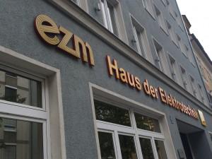 """Die Kantine im """"Haus der Elektrotechnik"""" in der Schillerstraße (Foto: Pfannkuch)"""