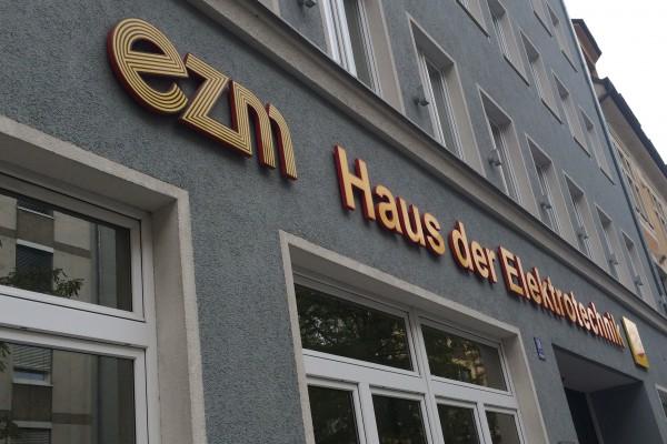 """Die Kantine im """"Haus der Elektrotechnik"""" in der Schillerstraße"""