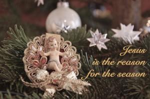 Jesus - nicht Geschenke sollte den Mittelpunkt an Weihnachten bilden (Foto: Winderl)