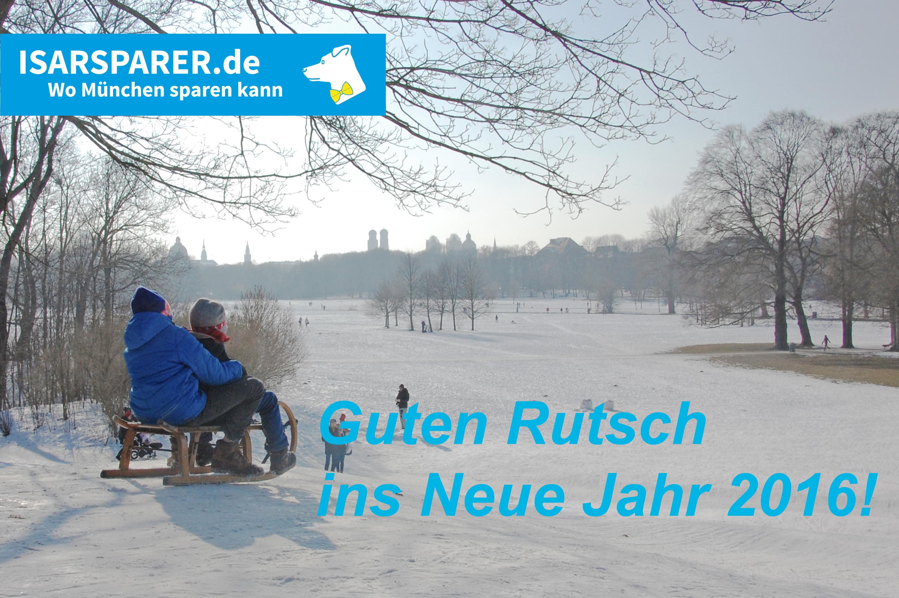 Rutsch auch gut ins Neue Jahr - in dem wir wie gewohnt für euch da sein werden (Foto: Winderl)