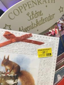 Am ersten Dezember habe ich schon reduzierte Adventskalender gesehen. (Foto: Winderl)