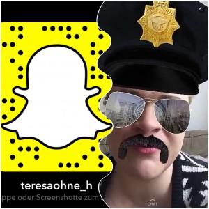 Die Schnäppchenpolizei ISARSPARER ist als teresaohne_h auf Snapchat unterwegs (Collage: Winderl)