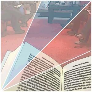 Lesefreude kommt in den markant-roten Leseecken von Hugendubel auf - selbst im hektischen Einkaufszentrum. (Foto: Winderl)