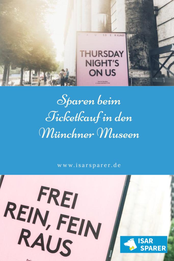 Sparen beim Kauf von Tickets für Museen in München